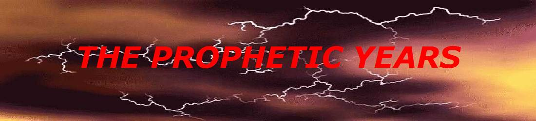 Stormy skies suggest the coming end time judgment in the prophetic years of Bible prophecy and Revelation